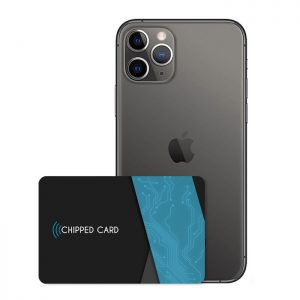 Chipped Card